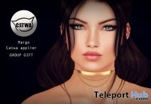 Margo Catwa Applier October 2017 Group Gift by WOW Skins - Teleport Hub - teleporthub.com