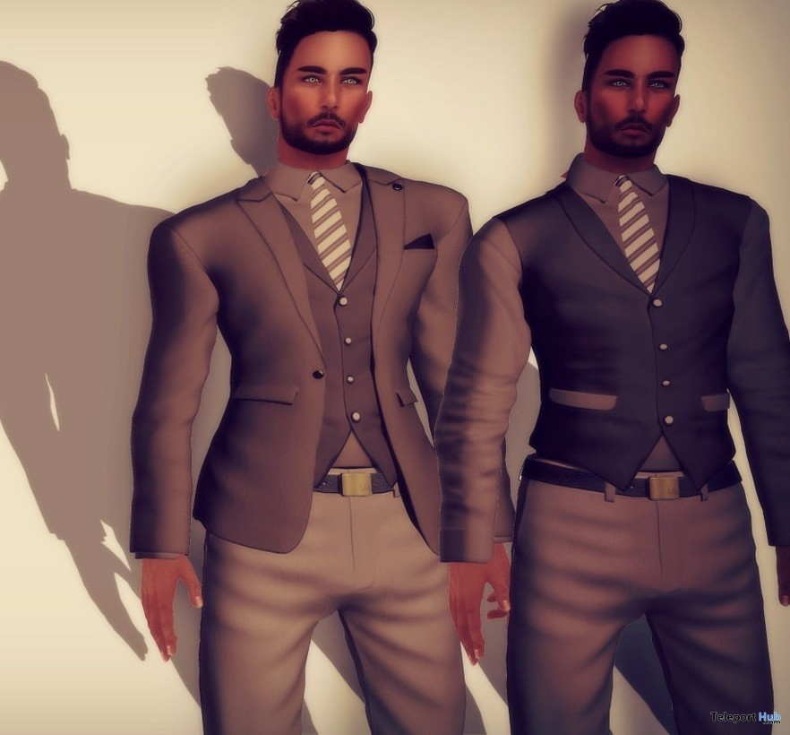 Mr. Alec Suit Brown True Gentleman Gift by Lupus Femina - Teleport Hub - teleporthub.com