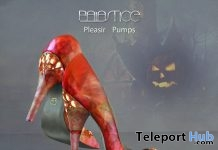 Pleasir Pumps Fatpack October 2017 Group Gift by Baiastice - Teleport Hub - teleporthub.com
