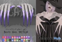 Bento Witch Nails Group Gift by Pink Hustler - Teleport Hub - teleporthub.com