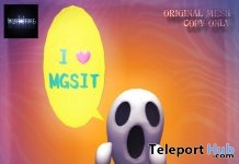 Talking Ghost October 2017 Group Gift by MGSIT-STORE - Teleport Hub - teleporthub.com