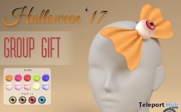 Eye Bows Halloween 2017 Group Gift by elise - Teleport Hub - teleporthub.com