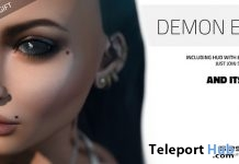 Pack of Eight Demon Mesh Eyes Group Gift by Session Skins - Teleport Hub - teleporthub.com