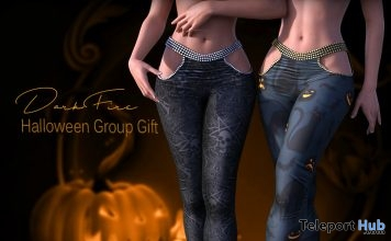 Halloween Pants October 2017 Group Gift by DarkFire - Teleport Hub - teleporthub.com