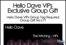 The Witching Nail Appliers Group Gift by Hello Dave - Teleport Hub - teleporthub.com