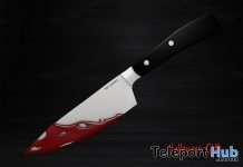 Bloody Kitchen Knife Halloween 2017 Gift by bon appetit - Teleport Hub - teleporthub.com