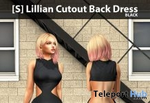 New Release: [S] Lillian Cutout Back Dress by [satus Inc] - Teleport Hub - teleporthub.com