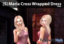 New Release: [S] Maria Cross Wrapped Dress by [satus Inc] - Teleport Hub - teleporthub.com