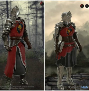 New Release: The Knight Set by Noble Creations - Teleport Hub - teleporthub.com
