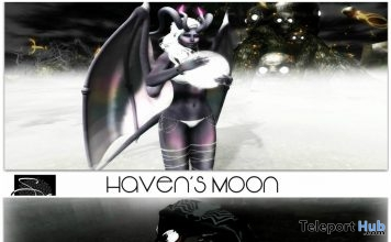 Haven's Moon & Evil Webs Venom Poses October 2017 Group Gift by Something New - Teleport Hub - teleporthub.com