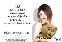 Ted The Bear Gift by Star Sugar - Teleport Hub - teleporthub.com