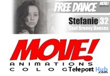 Stefanie 16 Dance Gift by MOVE! Animations Cologne - Teleport Hub - teleporthub.com