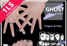 Ghost Nail Set 1L Promo Gift by #oohlala - Teleport Hub - teleporthub.com