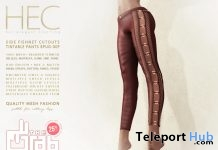 Side FishNet Cutout Tintable Pants Group Discount Promo by HEC - Teleport Hub - teleporthub.com