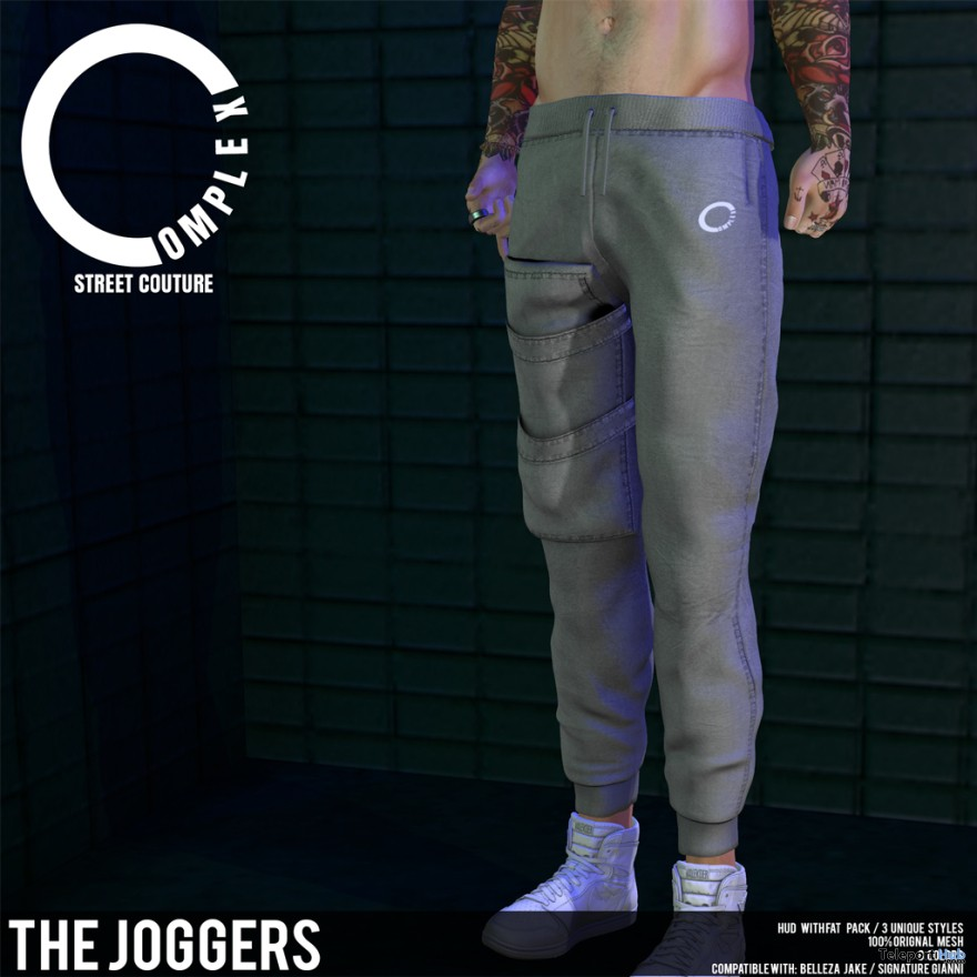 New Release: The Joggers by COMPLEX @ Shiny Shabby October 2017 - Teleport Hub - teleporthub.com