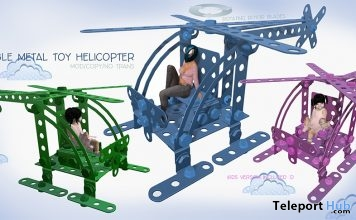 Wearable Metal Toy Helicopter Gift by June Trenkins - Teleport Hub - teleporthub.com