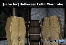New Release: Halloween Coffin Wardrobe by [satus Inc] - Teleport Hub - teleporthub.com