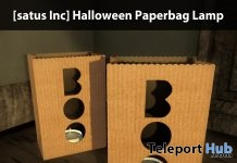 New Release: Halloween Paperbag Lamp by [satus Inc] - Teleport Hub - teleporthub.com