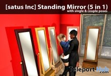 New Release: Standing Mirror (5 in 1) by [satus Inc] - Teleport Hub - teleporthub.com