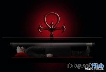 Unisex Vampire Pose With Coffin Gift by IRWA Poses - Teleport Hub - teleporthub.com
