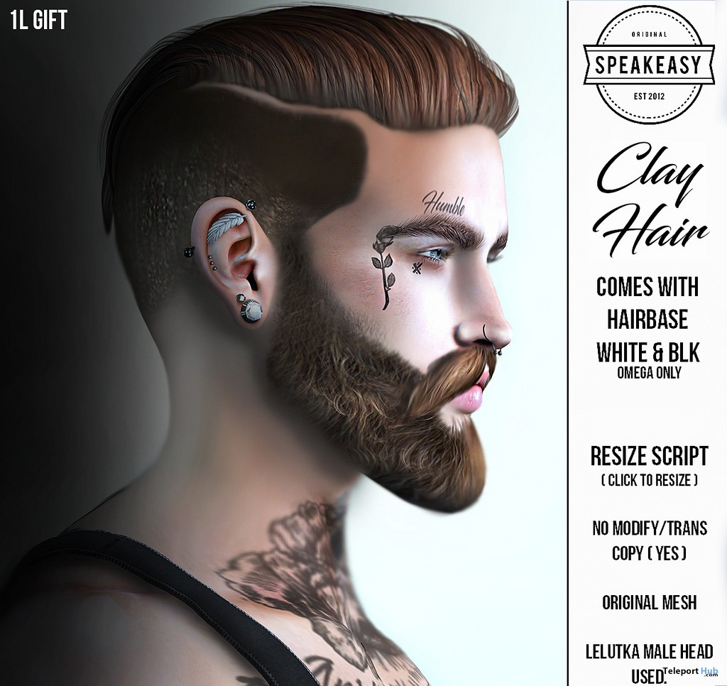 Clay Hair 1L Promo Gift by Speakeasy - Teleport Hub - teleporthub.com