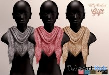 Scarf 10 Colors November 2017 Group Gift by Hilly Haalan - Teleport Hub - teleporthub.com