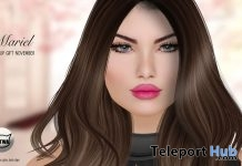 Mariel Catwa Head Applier November 2017 Group Gift by WOW Skins - Teleport Hub - teleporthub.com