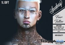 Fear Tattoo 1L Promo Gift by Speakeasy - Teleport Hub - teleporthub.com