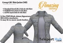 Jacket With Shirt November 2017 Group Gift by AmAzIng CrEaTiOnS - Teleport Hub - teleporthub.com