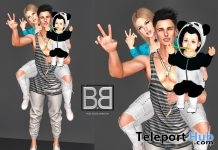 Happy Family Pose Group Gift by BIBI - Teleport Hub - teleporthub.com