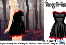 Liliana Dress Group Gift by Sexy Princess - Teleport Hub - teleporthub.com