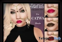 Lip Palette For Catwa Head Gift by Suenos - Teleport Hub - teleporthub.com
