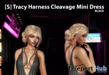 New Release: [S] Tracy Harness Cleavage Mini Dress by [satus Inc] - Teleport Hub - teleporthub.com