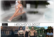 Heaven's Seat And Second Life Friends Poses November 2017 Group Gift by Something New - Teleport Hub - teleporthub.com