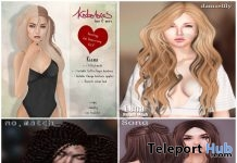 Hair & Accessories HairOLogy 2nd Anniversary Group Gifts by Various Designers - Teleport Hub - teleporthub.com