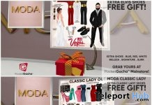 Elvis Shoes & Lady Bow Heels PocketGacha November 2017 Gift by MODA - Teleport Hub - teleporthub.com