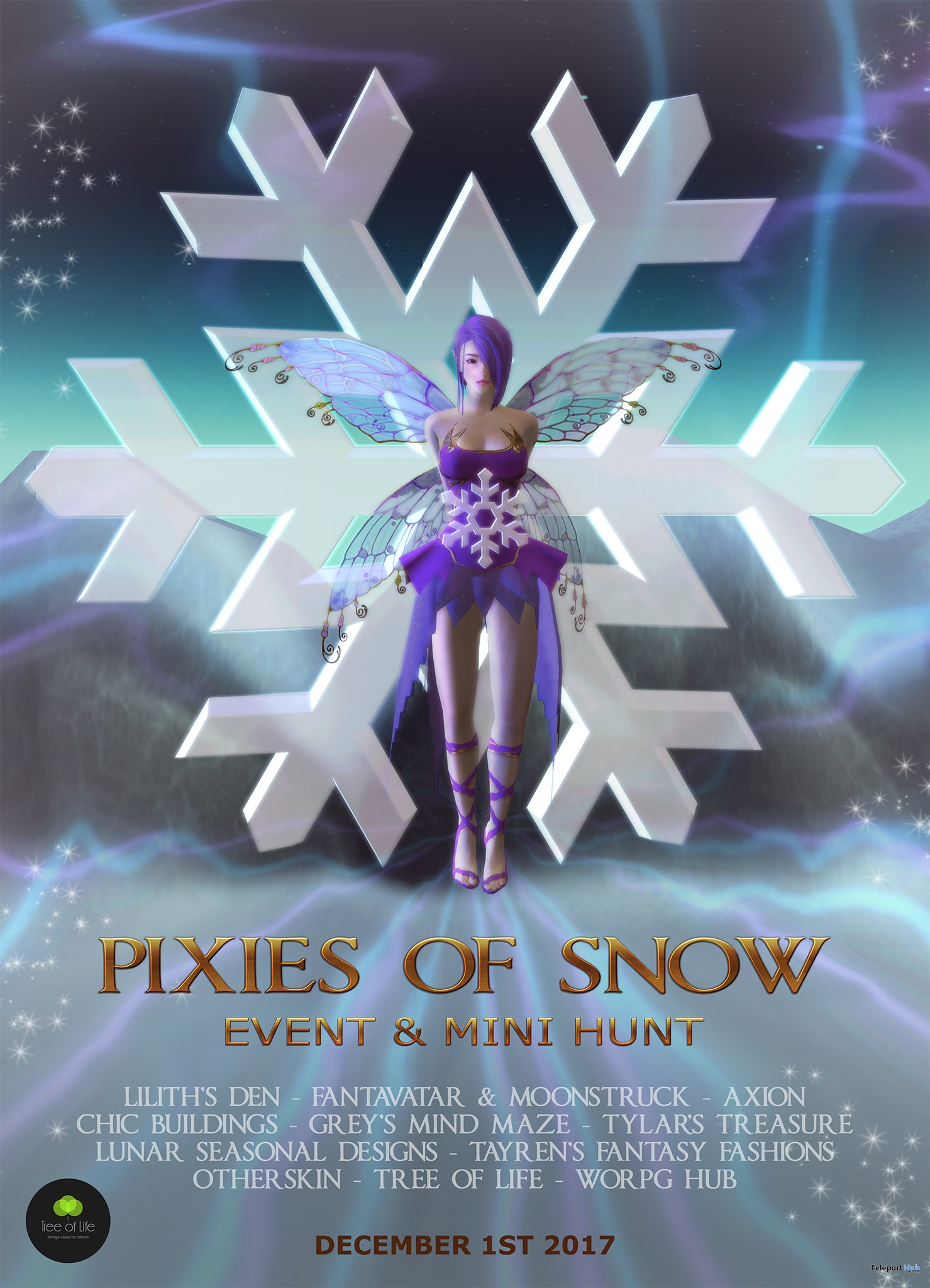 Pixies Of Snow Event & Hunt - Teleport Hub - teleporthub.com