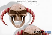 The Skull of Corruption Earrings Gift by Chop Zuey - Teleport Hub - teleporthub.com