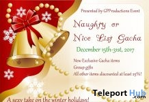 Naughty or Nice List Gacha Event - Teleport Hub - teleporthub.com