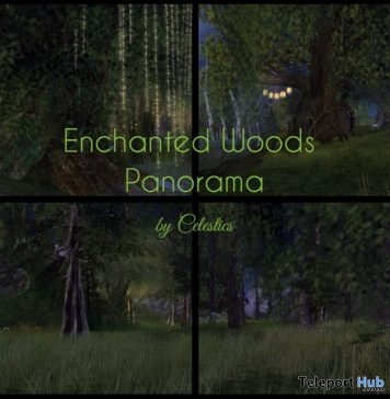 Enchanted Woods 360 Panorama Mesh Skybox 99L Promo by Celestics - Teleport Hub - teleporthub.com