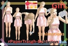 rPaperTrash Pack of 5 Bento Poses Gift by A&R Haven