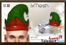 Elf Hat Christmas 2017 Gift by i.mesh - Teleport Hub - teleporthub.com