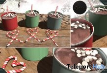 Festive Hot Cocoa December 2017 Group Gift by Dahlia - Teleport Hub - teleporthub.com