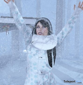 Knitted Coat Snowflakes The Frozen Fair 2017 1L Promo Gift by Rir Life Design - Teleport Hub - teleporthub.com