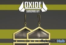 Hex Earrings December 2017 Subscriber Gift by OXIDE - Teleport Hub - teleporthub.com