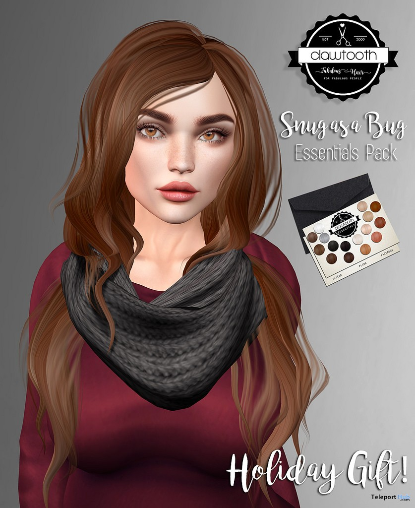 Snug As a Bug Hair Essentials Pack December 2017 Gift by Clawtooth - Teleport Hub - teleporthub.com