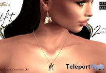 Merry Christmas Jewelry Set December 2017 Group Gift by NaaNaa - Teleport Hub - teleporthub.com