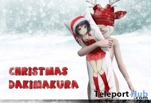 Dakimakura Holdable Anime Pillow Christmas 2017 Group Gift by HARO - Teleport Hub - teleporthub.com