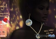 Concrete Love Jewelry Set December 2017 Group Gift by Cynful - Teleport Hub - teleporthub.com