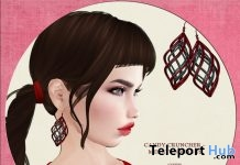 Merry Earrings December 2017 Group Gift by Candy Crunchers - Teleport Hub - teleporthub.com